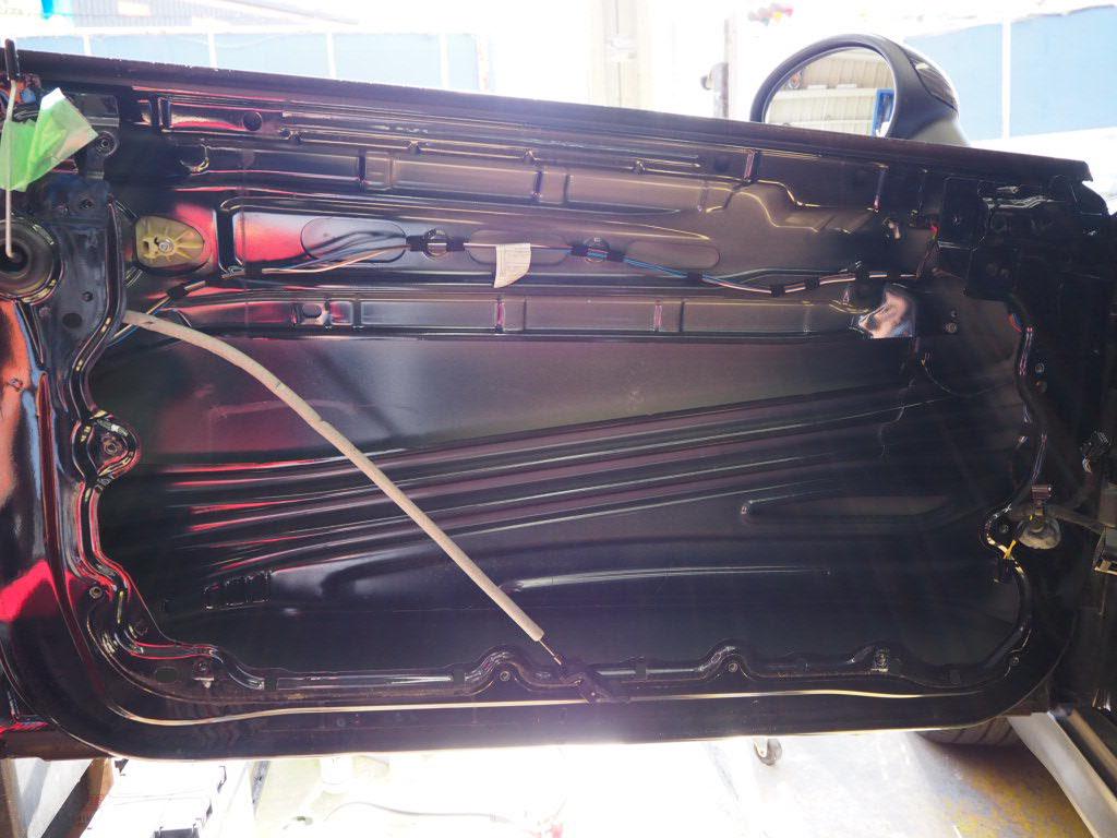 ミニクーパーR55 デントリペア 高槻